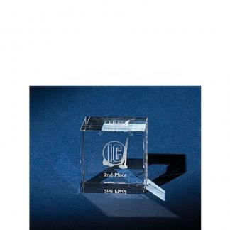 Crystal cube - 50mm
