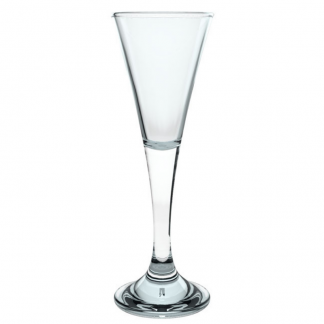 V-Shaped Schnapps Glass