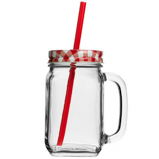 Country Drinking Jars