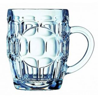 Traditional dimpled tankard