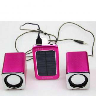 Solar Phone Charger with Battery Indicator