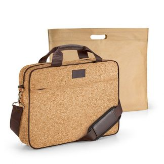 Cork lap top bag