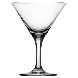Heavy Bottom Durham Crystal Martini Glass