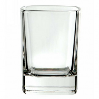 Square Crystal Shot Glass 4cl
