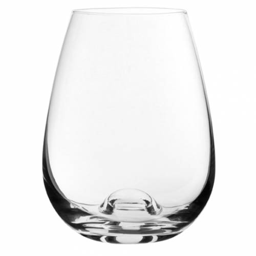 33cl Stemless Crystal White Wine Glass