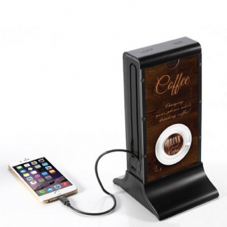 Coffee Menu Holder Power Banks
