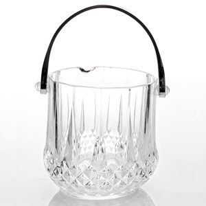 Crystal effect ice bucket