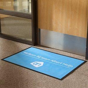 Promotional door mats