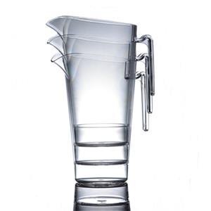 4 pint reusable plastic jug with lid