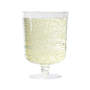 Budget disposable wine glass