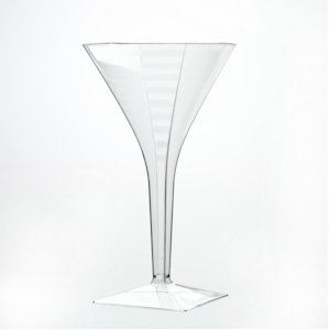 Reusable Martini glass