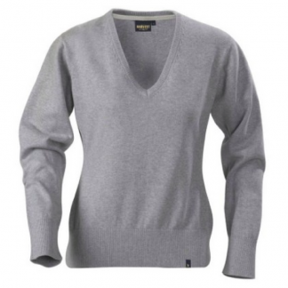 Ladies V Neck Sweatshirt