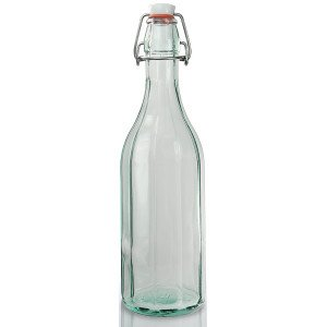 Vintage flip top bottle