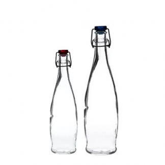 Curved Flip Top Bottle