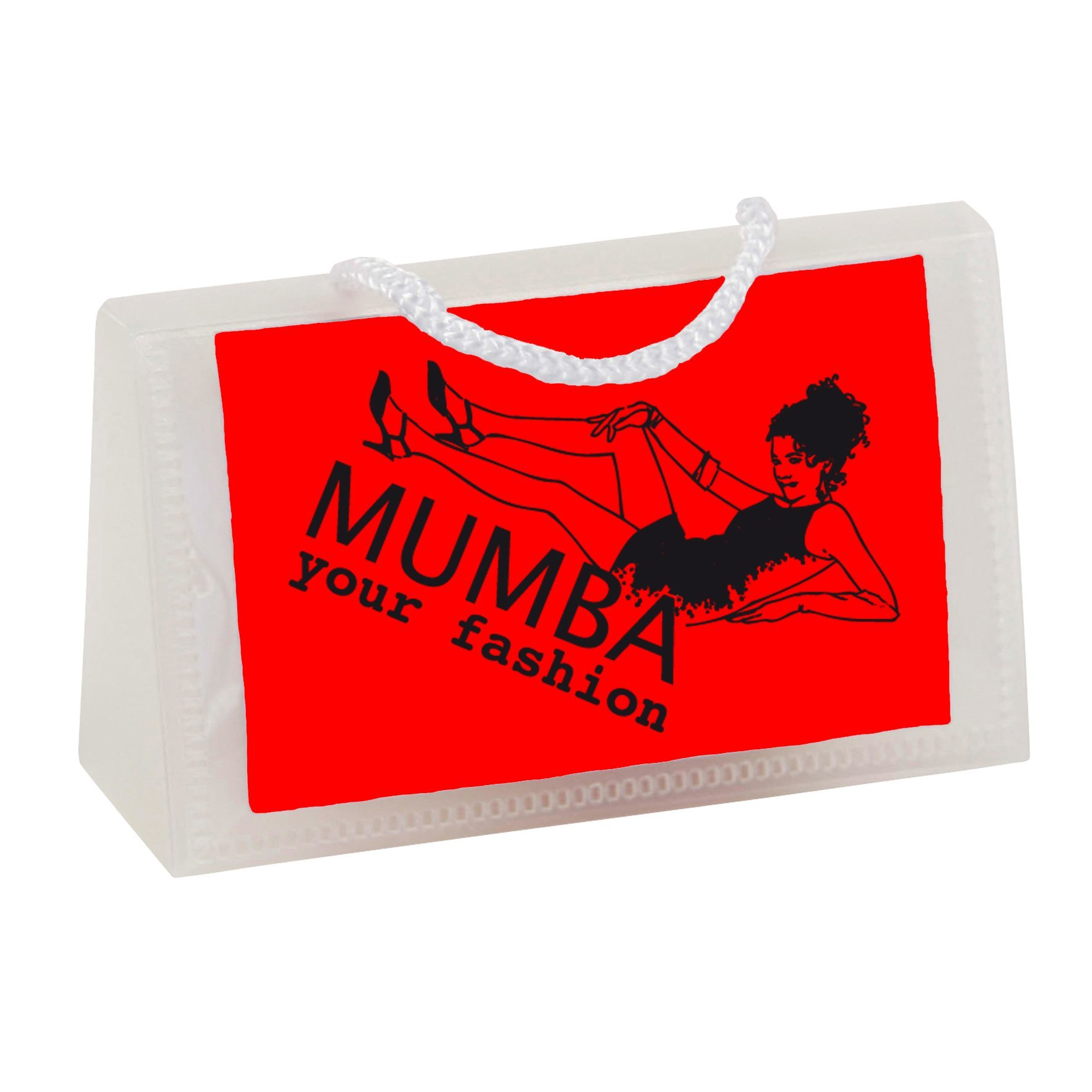 Business card bag with chocolates