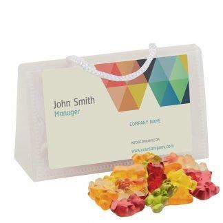 Business Card Gummies Bag
