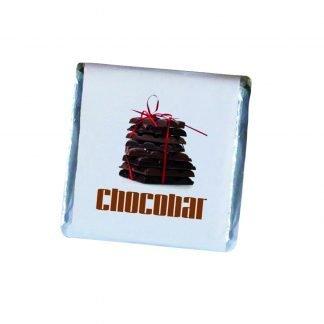 Small Belgian chocolate squares
