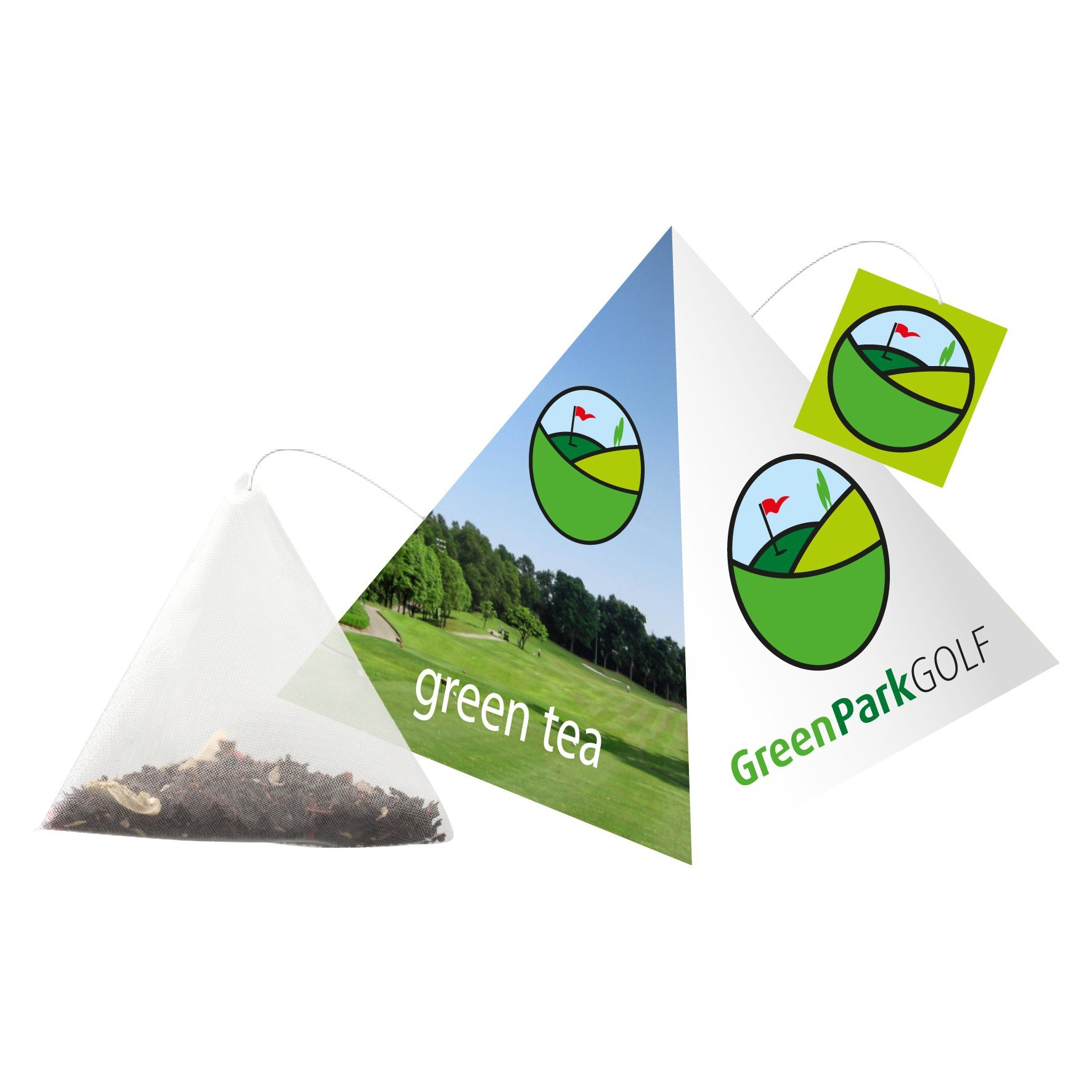 Pyramid pouch tea bag
