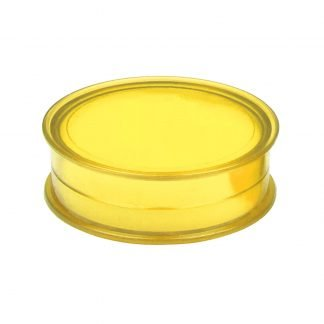 Lip balm in plastic jar