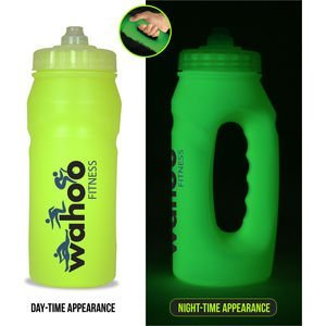 Glow in the dark bottle