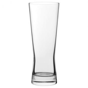 Modern sleek pint glass