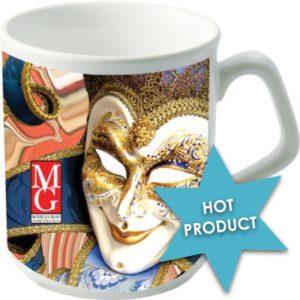 Custom branded coffee mugs
