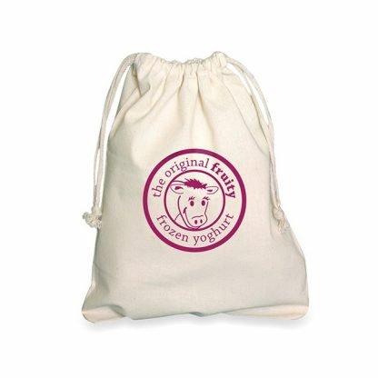Medium Drawstring Cotton Bag