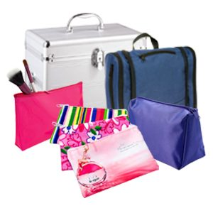 Branded Beauty Bags and Organisers