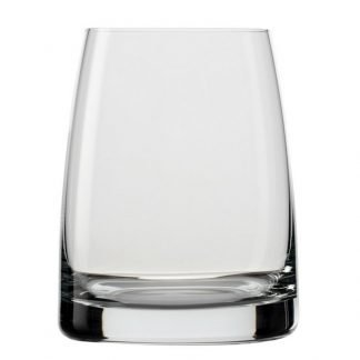 Wide base gin glass