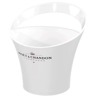 Champagne ice bucket with handle