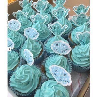 Premium Printed Cupcakes