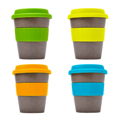Bamboo Fibre Coffee Cup All Colours