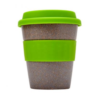 Dark Bamboo Coffee Cup