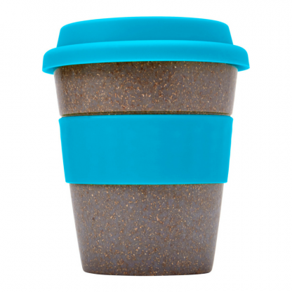 Bamboo Fibre Coffee Cup in Blue
