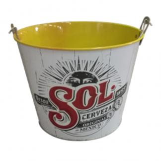 Galvanised Ice Bucket