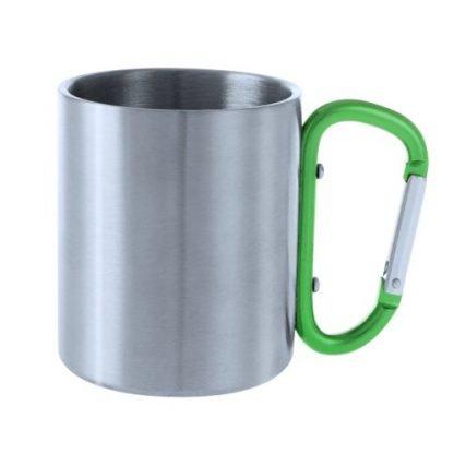 Stainless Steel Carabiner Mug