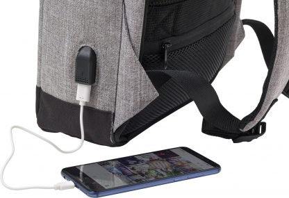 Promotional Anti Theft Bag USB Socket