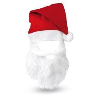 Bearded Santa Hat