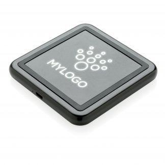Light-Up Promotional Wireless Mini Charger