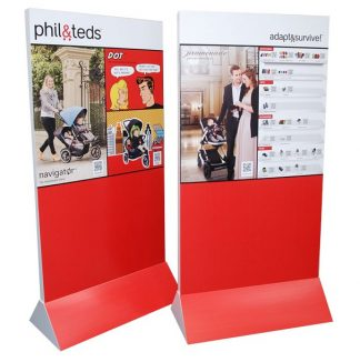 Retail Cardboard Standees